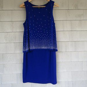 Exquisite Royal Blu Cocktail Dress by JH Evenings